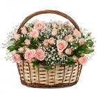 """Композиция """"Розовый сад"""""""